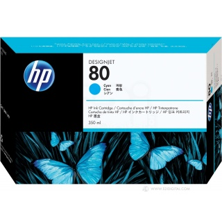 HP Cart DSGJ 1050c/1055 N°80 350ml
