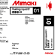 Mimaki cleaning cartridge JV400LX 220ml
