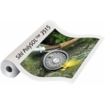 3515 Film Polyester Roll Up Dos Gris 180µ 20m