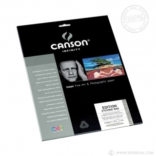 Canson Infinity Edition Etching Rag 310g (Boîte de 25 feuilles)